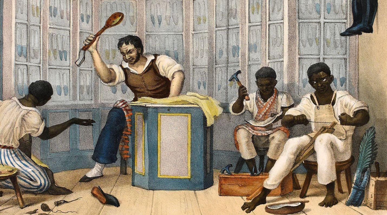 teniendo esclavitud