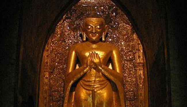 Kakusandha/https://commons.wikimedia.org/wiki/File:Ananda-Bagan-Myanmar-30-gje.jpg