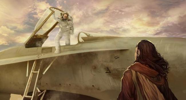 """Si Ezequiel hubiera visto un Astronauta ¿Acaso no sería un Dios para su comprensión vestido """"como el fulgor del electro""""?"""
