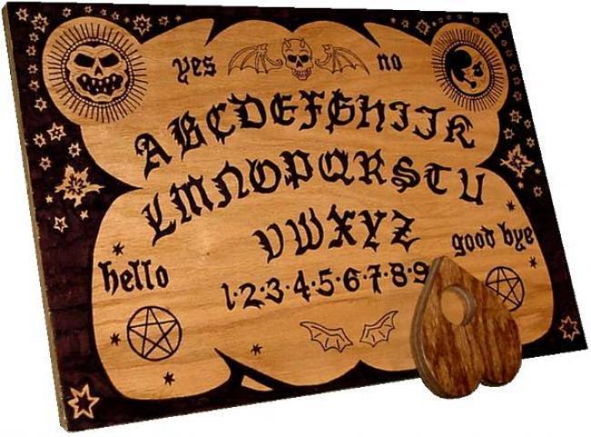 Tablero Inglés de la Ouija
