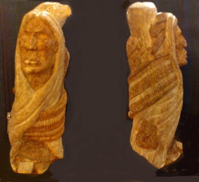 Escultura Inuit: Las tres caras del Creador
