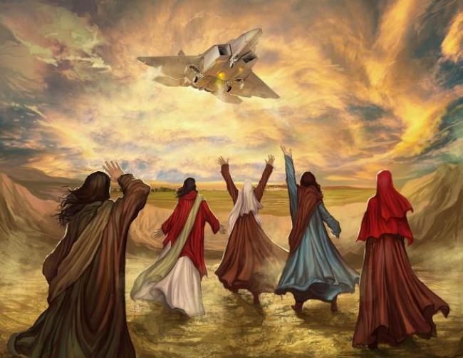 ¿Eran naves los 4 seres vivientes que describe Ezequiel?