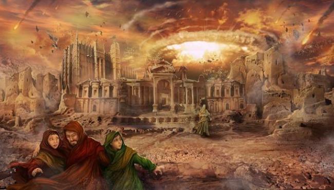 Según Von Däniken Sodoma y Gomorra sufrieron un ataque nuclear