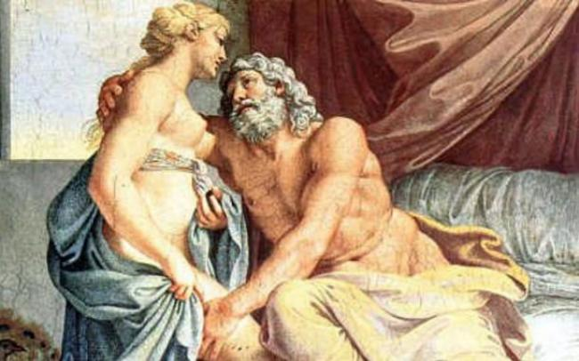 Jupiter y Juno / Annibale Carracci [Public domain], via Wikimedia Commons