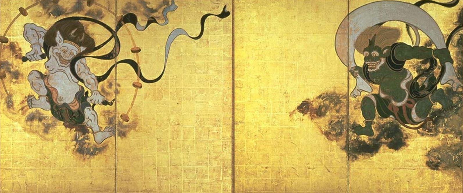 Los fantásticos dioses japoneses y su mitología