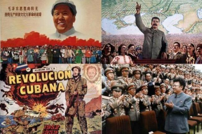 Los endiosados por el culto de la personalidad: Mao, Stalin, Fidel Castro y Kim Il Sung